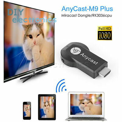 AnyCast M9 Plus WiFi Display Receiver HDMI 1080P TV DLNA Airplay Miracast US
