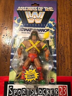 Masters Of The WWE Universe Ultimate Warrior Action Figure In Hand Ship Fast