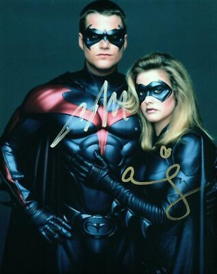 Alicia Silverstone Chris O'Donnell signed 8x10 Photo autographed VERY NICE + COA