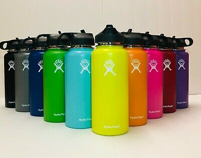 Hydro Flask Water Bottle Stainless Steel & Vacuum Insulated with Straw Lid_32 oz