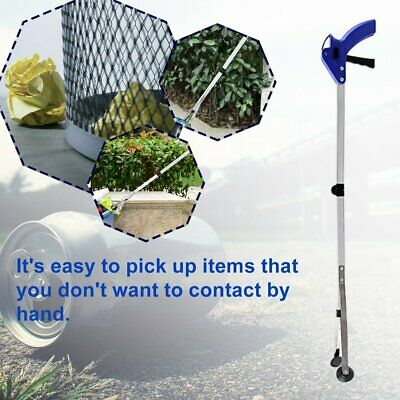 Foldable Long Reaching Pick Up Tool 83CM Claw Gripper Grabber Kitchen ToolG7♜