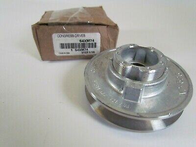 "2.5/"" 5//8/"" bore pulley New Congress Drives 3X901 2-1//2 x 5//8"