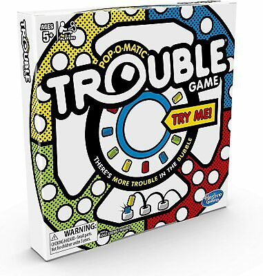 Trouble Game Suitable for children ages 5 and up