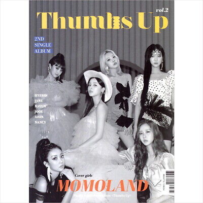 Momoland - Thumbs Up (2nd Single Album) CD+Photo Book+Photocard NEW SEALED