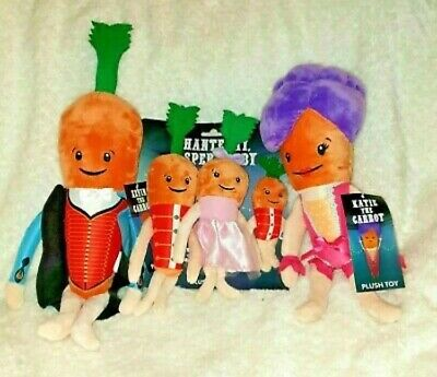Aldi Official 2019 Kevin The Carrot Family, Kevin, Katie And The Children New