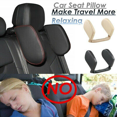 Car Seat Headrest Pad Memory Soft Pillow Head Neck Rest Side Support Cushion