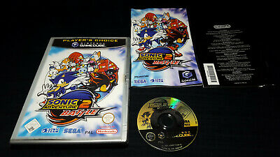SONIC ADVENTURE 2 BATTLE - jeu Game console Nintendo Gamecube