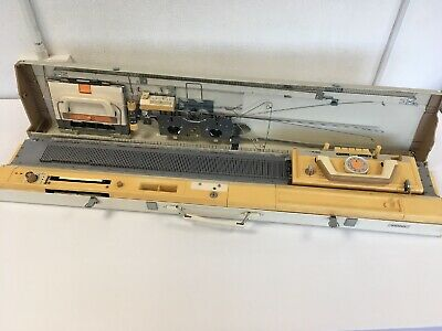 Brother KH830 Vintage Knitting Machine In Carry Case Not Tested