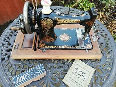 Jones C S Family Sewing Machine