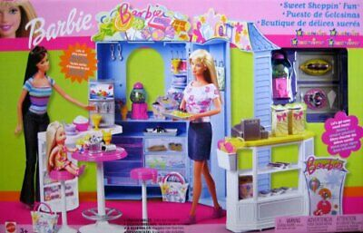"Barbie Sweet Shoppin' Fun Playset ""R"" Exclusive (2003) B0238 *NEW*"