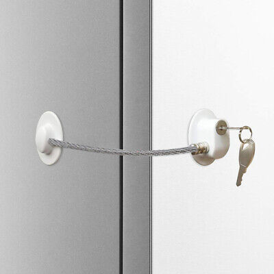 Children Kids Safty Lock Self-adhesive Baby Kids Drawer Refrigerator Latch Lock