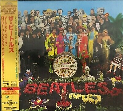 The Beatles- Sgt. Peppers- 50th Anniversary Dbl CD- Brand New (Japanese)