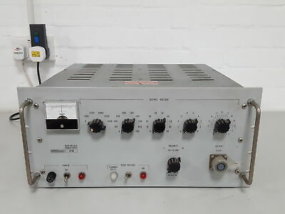 Fluke 408B High Voltage Power Supply Lab