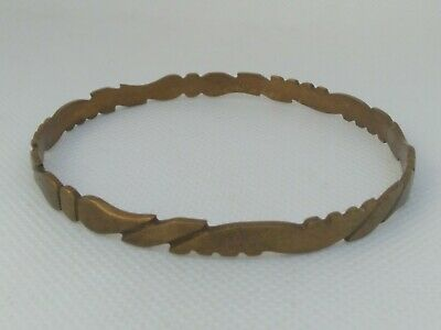 Rare Extremely Ancient Viking Bronze Bracelet Artifact Quality Very Stunning