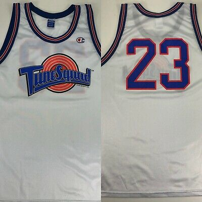 Rare Original Tune Squad 1996 Champion #23 Michael Jordan Jersey 48/XL Space Jam
