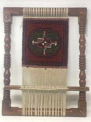 Antique And Beautiful Vintage Wooden Rug Loom