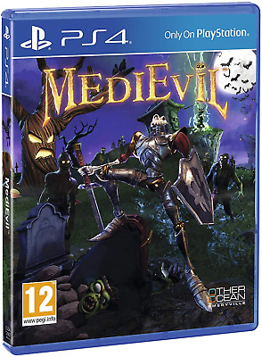 Medievil PS4 (Sony PlayStation 4, 2019) Brand New - Region Free