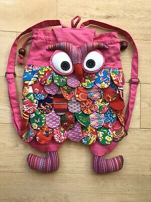 Girls Owl Backpack - Fabulous Backpack -  Unwanted Gift Never Used