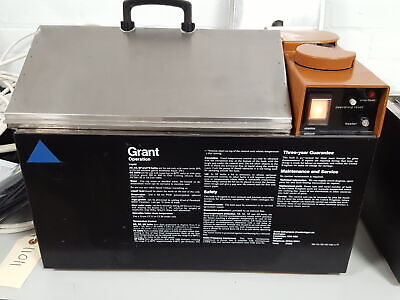 Grant Water Bath With Lid Lab Equipment