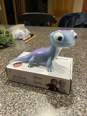 NEW Disney Frozen 2 Bruni Salamander Mood Color Changing Kid's Room Night Light