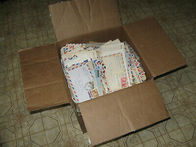 20 pounds of common US and Worldwide Covers in a 12 by 12 by 13 box