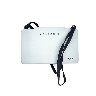 POLAROID Land 103 Instant Film Folding Camera with Hard Case, Manuals, Excellent