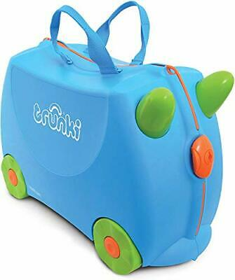 Trunki Original Kids Ride-On Suitcase and Carry-On Luggage Blue