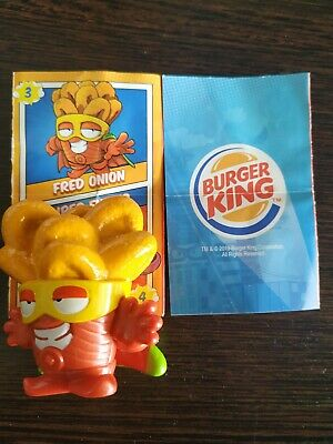 Superzings Fred Onion N°3 Burguer King Especial Edition Extra Size