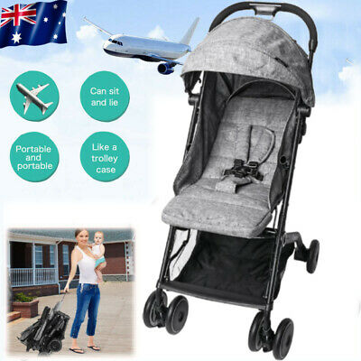 2020 Compact Lightweight Baby Stroller Jogger Pram Carry on Luggage Travel 2Y