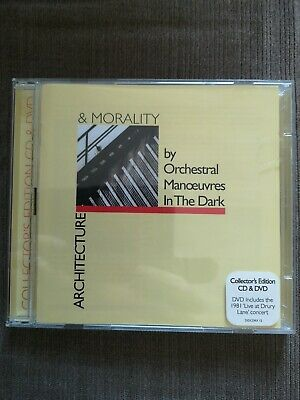 Orchestral Manoeuvres in the Dark - Architecture And Morality CD DVD live OMD