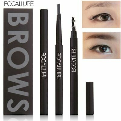 Makeup Waterproof Brow Pen Eyebrow Pencil with Brush Long-lasting Double Heads
