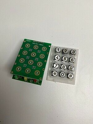 Comelit InteRcom Keypad Board And Buttons