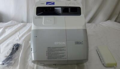 Epson BrightLink 455Wi 3LCD interactive Short Throw Projector, very clean