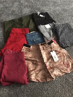 8 Pairs Of Shorts 3 Brand New With Tags Amounting To £108