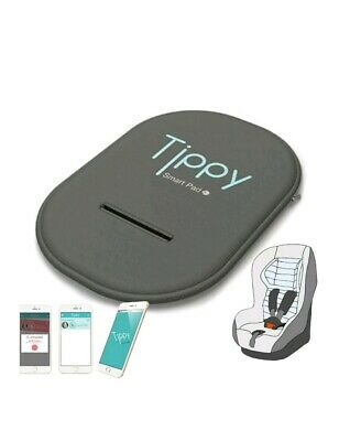 Digicom Tippy On Board Cuscino da Sicurezza Bluetooth per Seggiolino - Grigio