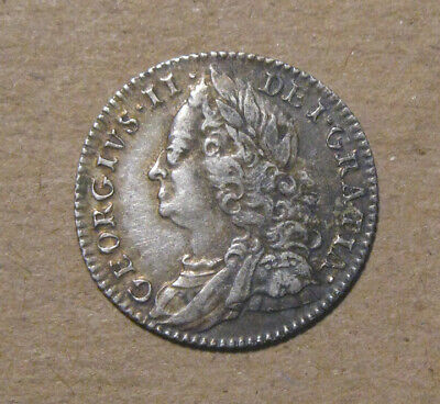 Great Britain - 1757 Silver 6 Pence - Very Nice