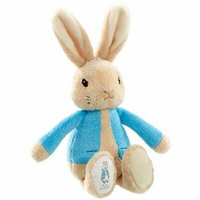 Peter Rabbit My First Haba Bolsa Suave Sonajero Beatric Potter Juguete Bebé -