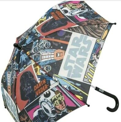 Disney Star Wars Darth Vader Umbrella Official Licensed Kids Children's