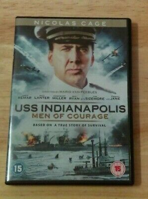 USS Indianapolis: Men of Courage (DVD, 2017)