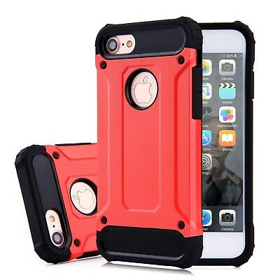 Hybrid Armor Shockproof Rugged Bumper Case For Apple iPhone 7 and iPhone 7 plus