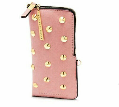 BNWT QUAY Australia Sunglasses Case, Pink With Gold Hardware