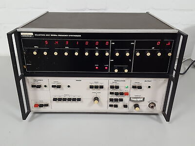 Schlumberger Solartron 4601 180MHz Frequency Synthesizer Lab