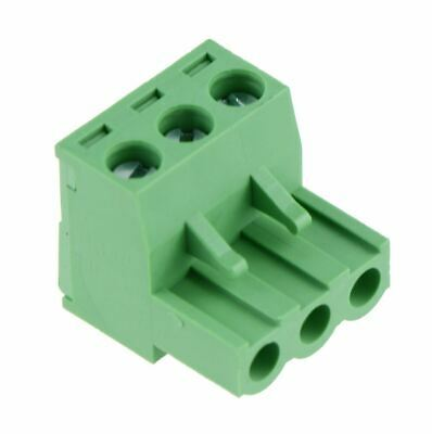 5 x 3-Way Plug-In PCB Screw Terminal Block 5.08mm
