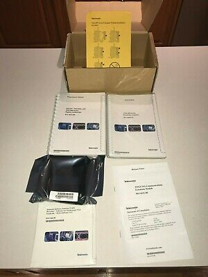Tektronix TDS2CMA Communications Module NEW with Manuals & Software