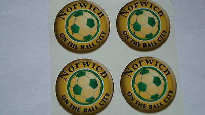 "16 x   CROWN GREEN STICKERS  1/""  YOUR INITIALS LAWN BOWLS  /& INDOOR BOWLS GLOSSY"