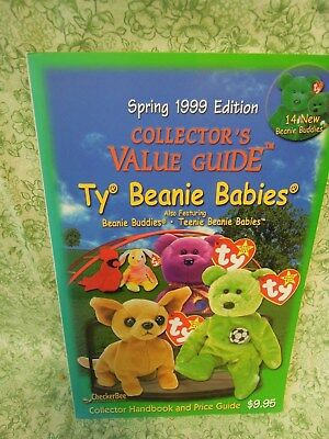 """mb-38  TY Beanie Babies bk: """"Collector's Value Guide, Spring & Winter 1999 ed."""""""