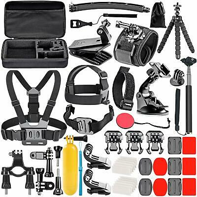 GOPRO ACCESSORIES KIT Hero 8 7 6 5  Outdoor Action Sports Camera Mount Set 50in1