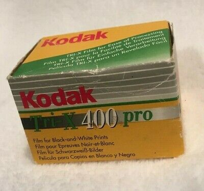 KODAK Tri-X 400 PRO BLACK & WHITE PRINT FILM TX 135 - 36 EXPOSURES EXPIRED 2003