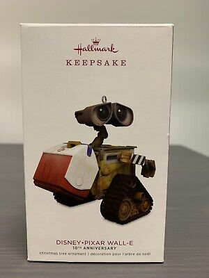 HALLMARK Keepsake 2018 WALL-E Disney Pixar CHRISTMAS ORNAMENT 10th Anniversary