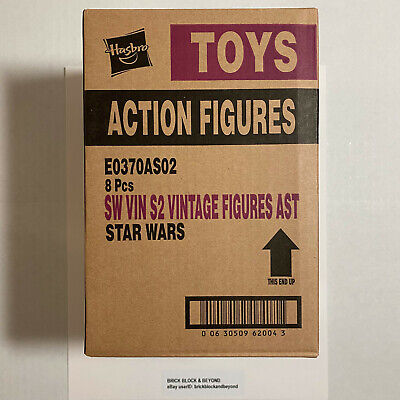 "2018 Hasbro Star Wars The Vintage Collection TVC 3.75"" Wave 2 Sealed Case"